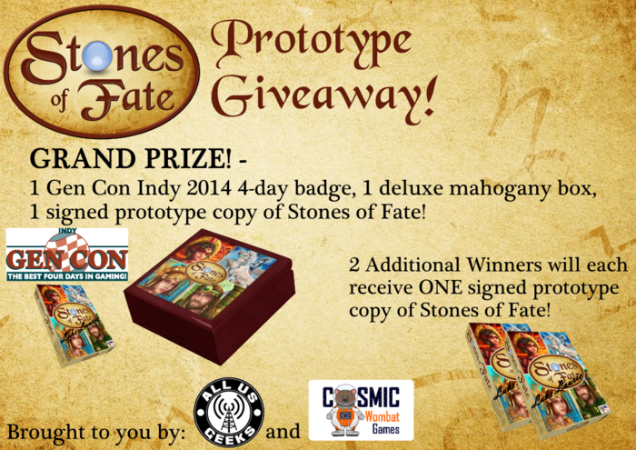 Stones of Fate Contest Graphic